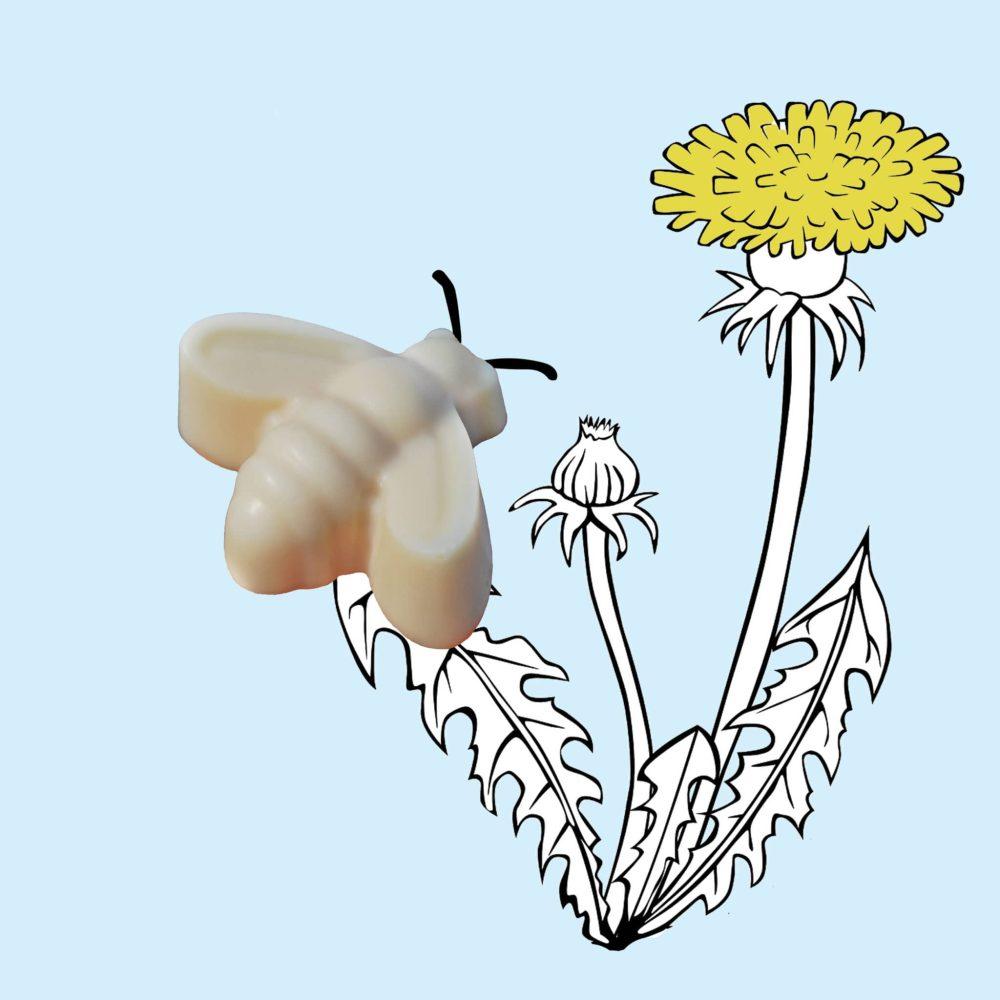 """˂img src=""""Jemné přírodní mýdlo se syrovátkou-včelička Květuška.jpg""""alt=""""jemné přírodní mýdlo se syrovátkou ve tvaru včeličky vhodné i pro miminka""""˃"""